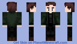 Gale Hawthorne - Catching Fire Minecraft Skin