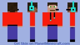 Gamer Minecraft Skin