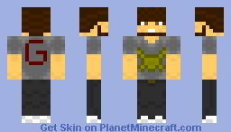 Gamma Pack Default skin (Possible future texture pack) Minecraft Skin