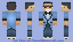 Psy- Gangnam Style (Let's put this on the Pop Reel!) Minecraft Skin