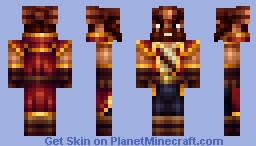 Gangplank from League of Legends Minecraft Skin