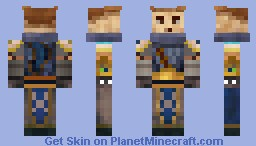 Garen, the Might of Democia Minecraft Skin