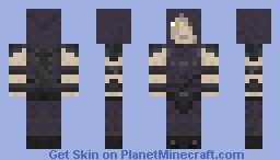 Garrett from Thief Minecraft Skin