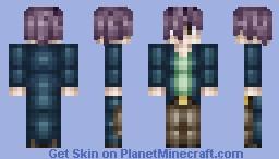 Garry from Ib Minecraft Skin