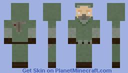 The Loner Minecraft Skin