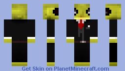 Gecko In a Tuxedo Minecraft Skin