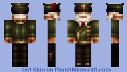 Army General Minecraft Skin