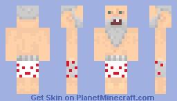 GenerikB in his underwear! Minecraft Skin