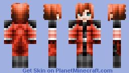 Genesis ~ Final Fantasy Crisis core VII Minecraft Skin