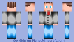 Business man Grey suit - Hair [Please diamond] [DOWNLOAD!] Minecraft Skin