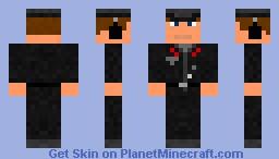 German PanzerKommandant Minecraft Skin