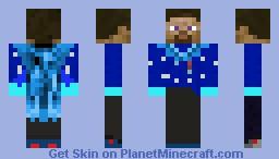 Scarf Steve Minecraft Skin