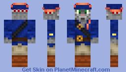 Captain Claw Minecraft Skin