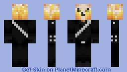 Ghost Rider (Movie Version) [Awesome Flames] Minecraft Skin