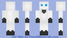 Ghost (halloween skin) Minecraft Skin