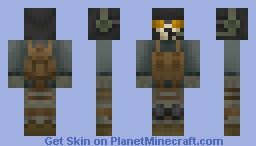 Ghost (Modern Warfare 2) Minecraft Skin