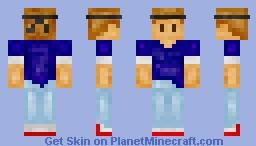 Ginja Minecraft Skin