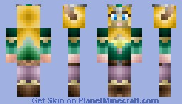 Female Elf (Requested) Inspired by Galadriel Minecraft Skin