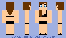 island girl Minecraft Skin