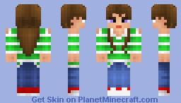 SOOACI Skin Contest- Girl Minecraft Skin