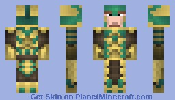 Glass Armor from Skyrim(3D Parts) Minecraft