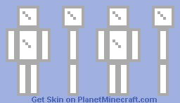 Glass Camo Minecraft Skin