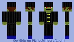 Goblin in suit Minecraft Skin