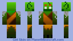 Goblin Villager Minecraft Skin