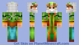 Arutan the God of Nature [NOT FOR CONTEST] Minecraft Skin