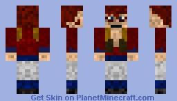 Super saiyan 4 Gogeta Minecraft Skin