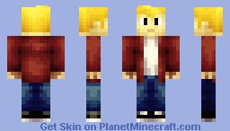 Golden Boy (HD) Minecraft Skin