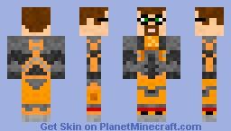 Gordon Freeman (Half-Life) (Contest skin) Minecraft Skin