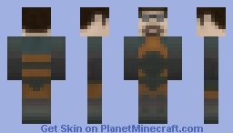 Gordon Freeman - Half Life Minecraft Skin