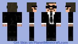 Gordon The Gamer Suit Minecraft Skin