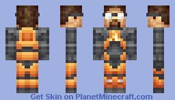 Gordon Freeman Minecraft Skin