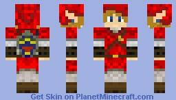 Goron Tunic Link Minecraft