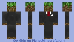 Grass Man Minecraft Skin