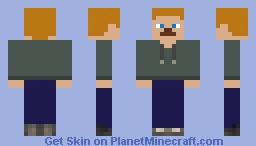 HaydenHill555's Gray Jacket Minecraft Skin