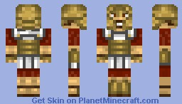 Greek hoplite Minecraft Skin