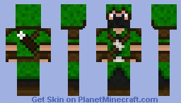 Green Archer Minecraft Skin