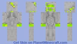 Green Armor Minecraft Skin