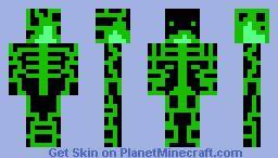 Green Machine Minecraft Skin
