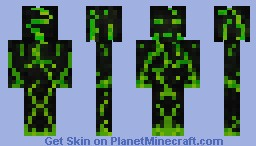 The Green Relic Minecraft Skin