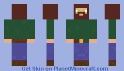 Manly Man Minecraft Skin