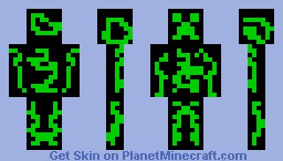 Creeper Green Minecraft Skin