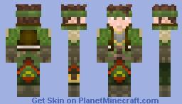 Guan Ping (Dynasty Warriors - Skin Series) Minecraft Skin