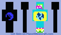 The Guide (contest entry) Minecraft Skin