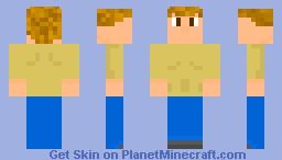 Terraria Guide Minecraft Skin