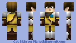 Medieval Bannerman Minecraft Skin