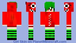 Gumi Megpoid Matryshoka (Vocaloid) -Tana- Minecraft Skin